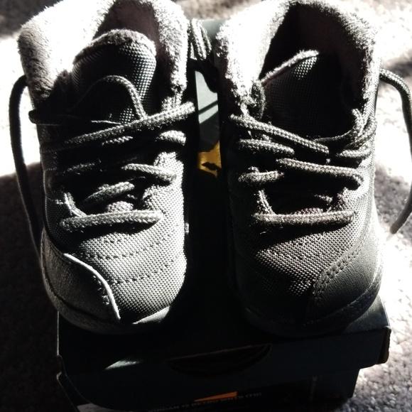in stock 34f83 fbf1f Black Jordan 12s (infant/Toddler)
